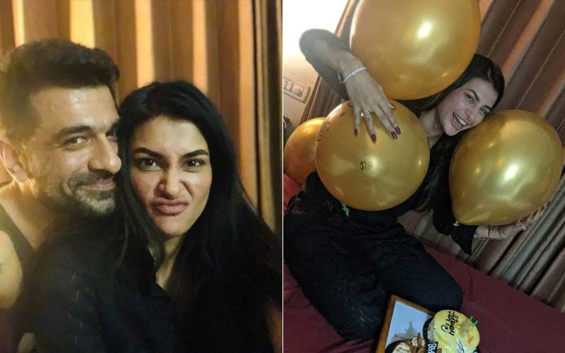 Bigg Boss 14's Eijaz Khan Surprises GF Pavitra Punia On Her Birthday; Lovebirds Enjoy Cosy Celebration At Home With Balloons And Cakes- INSIDE PICS