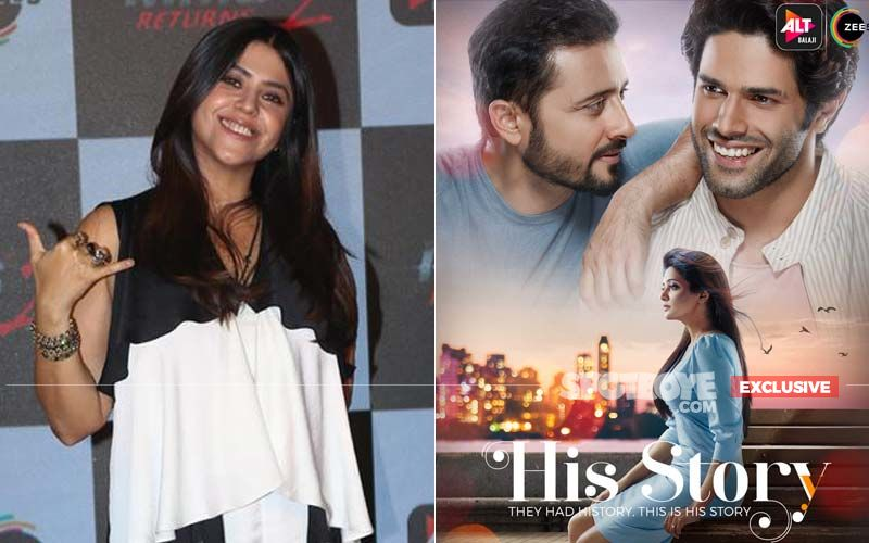 Ekta Kapoor Voluntarily Edits Out Intimate Scenes In Same-Sex Series His Storyy - EXCLUSIVE