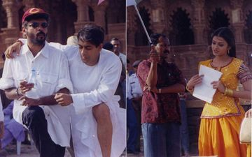 Hum Dil De Chuke Sanam Completes 22 Years: Here Are Unseen Pictures Of Salman Khan, Aishwariya Rai Bachchan And Ajay Devgn With Sanjay Leela Bhansali To Take You Down Memory Lane