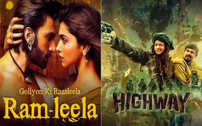Deepika Padukone-Ranveer Singh's Raam Leela And Alia Bhatt-Randeep Hooda's Highway: Lockdown Blues-Chasers Part 33