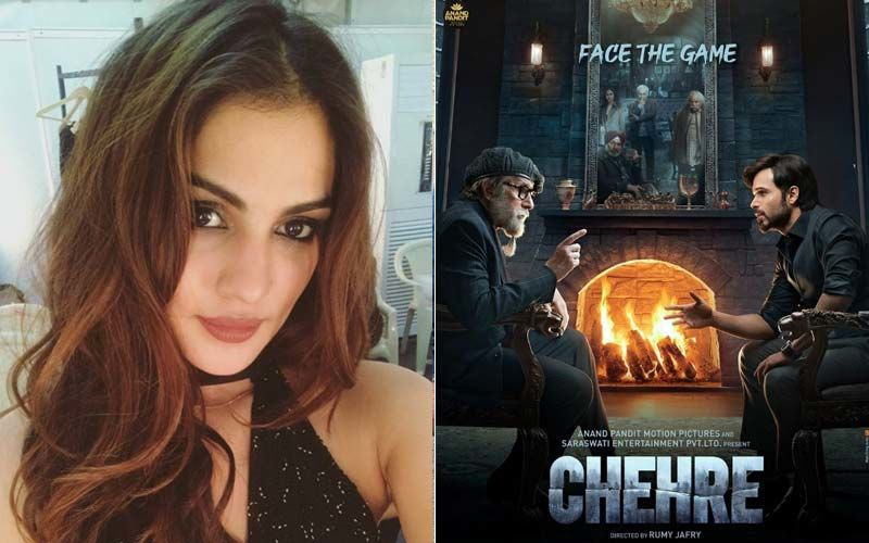 Chehre: Will Rhea Chakraborty Be Promoting The Movie Alongside Amitabh Bachchan And Emraan Hashmi? -EXCLUSIVE