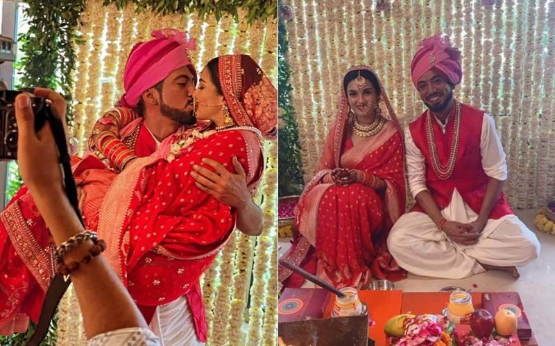 Shiny Doshi Ties The Knot With Boyfriend Lavesh Khairajani, Friend Vinny Arora Shares Pic Of The Couple Sealing Their Love With A Kiss