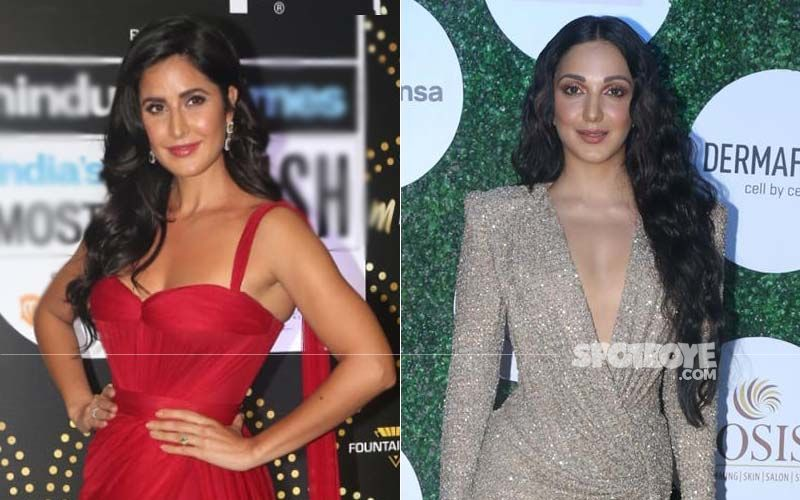Katrina Kaif And Kiara Are Flaming; Guess How Much The Temperature Rose Courtesy The Fiery And Fiesty Babes
