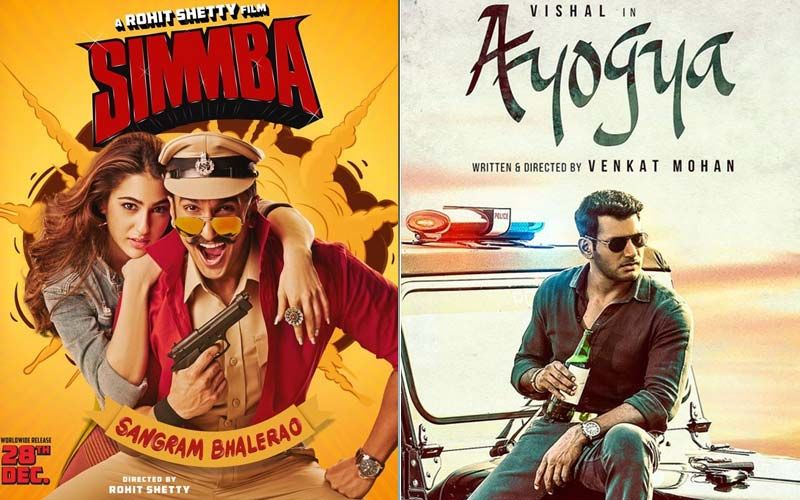 Ranveer Singh-Sara Ali Khan Starrer Simmba And Ayogya: Two Films With The Same Plot But Different Languages To Keep You Entertained-PART 74