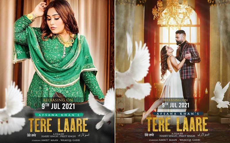 Tere Laare: Afsana Khan's New song Ft. Amrit Maan And Wamiqa Gabbi Leaves Fans Spellbound