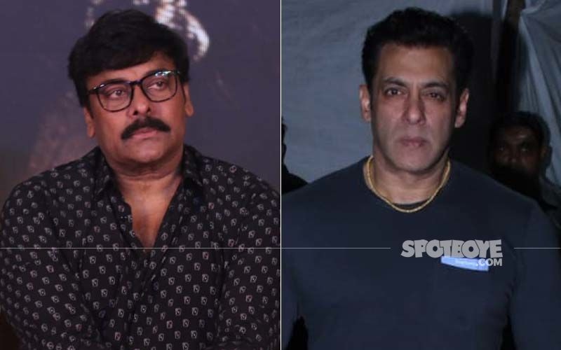 Salman Khan-Chiranjeevi First Time On Screen Together