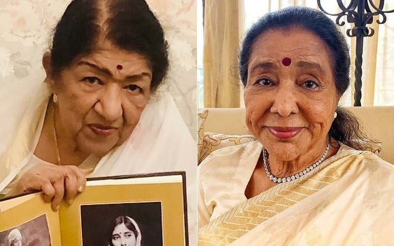 Asha Bhosle Birthday Special: 'The Rivalry Is All Imagined', Says Lata Mangeshkar About Her Bond With Her Sister
