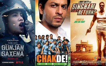 From Gunjan Saxena To Chak De India: Movies That Released In The Independence Day Week That Will Fill You Up With Pride
