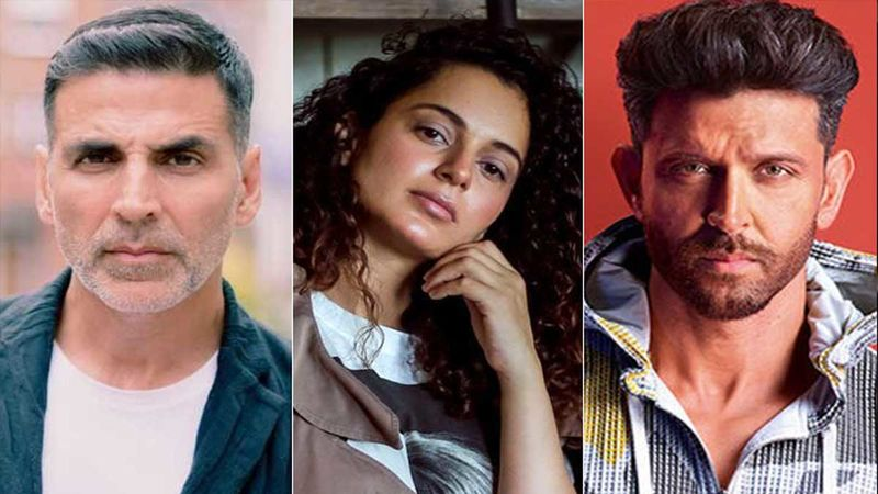 Akshay Kumar, Kangana Ranaut, Hrithik Roshan Top The List Of Google's Most Searched Bollywood Celebs In 2019