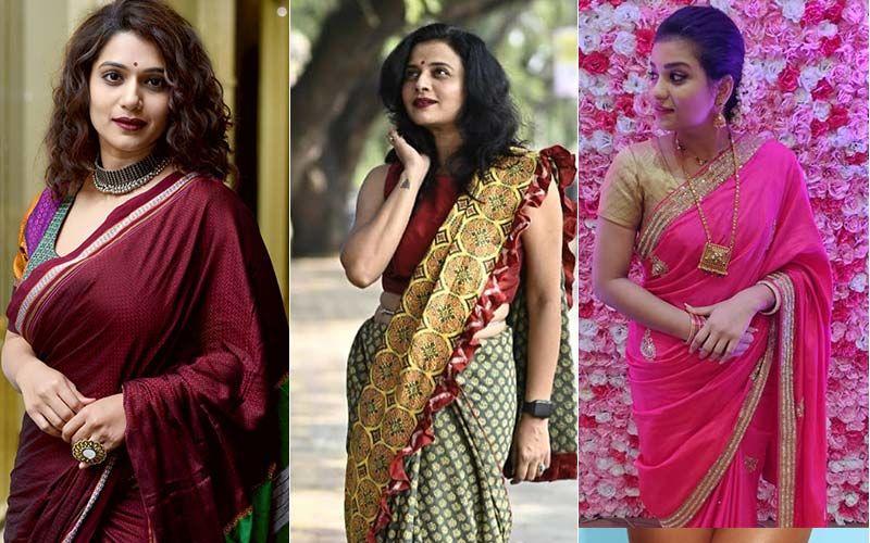 Who Wore It Better? Urmila Kothare, Bhargavi Chirmule, And Sharmila Shinde's Saree Look On Instagram