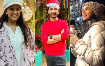 Christmas Celebration 2019: Marathi Stars Jitendra Joshi, Ravi Jadhav, Shriya Pilgaonkar, Abhijeet Khandkekar, Apurva Nemlekar, Sai Lokur Are Making Merry This Holiday Season
