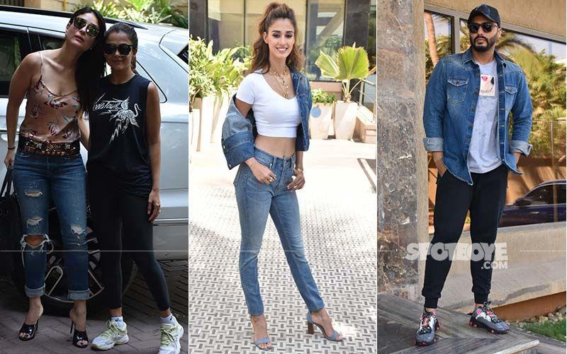Celeb Spottings: BFFs Kareena-Amrita Papped Together, Disha Patani And Arjun Kapoor Keep It Cool In Denims