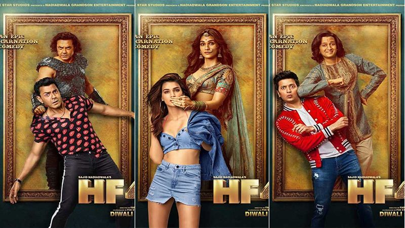 Housefull 4: Bobby Deol, Riteish Deshmukh, And Kriti Sanon's Character Posters Reveal The Epic Reincarnation Comedy