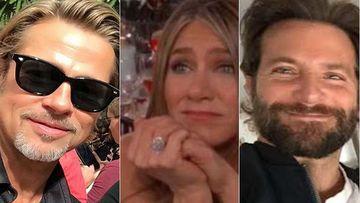 Brad Pitt Hangs Out With Jennifer Aniston NOT - Dayum, OUATIH Star Boy Bonds With Bradley Cooper At His NY Apartment