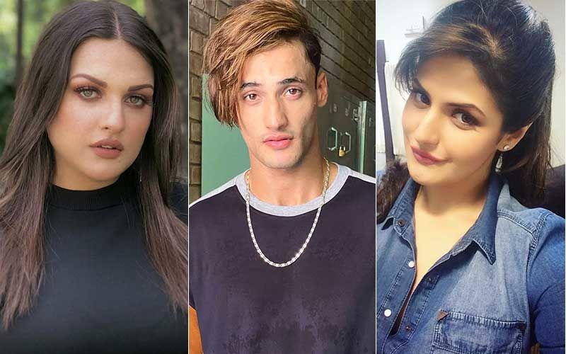 Bigg Boss: As Himanshi Khurana Fights Coronavirus At The Hospital, Beau Asim Riaz Flaunts Sexy Bare Back; Makes Zareen Khan Swoon