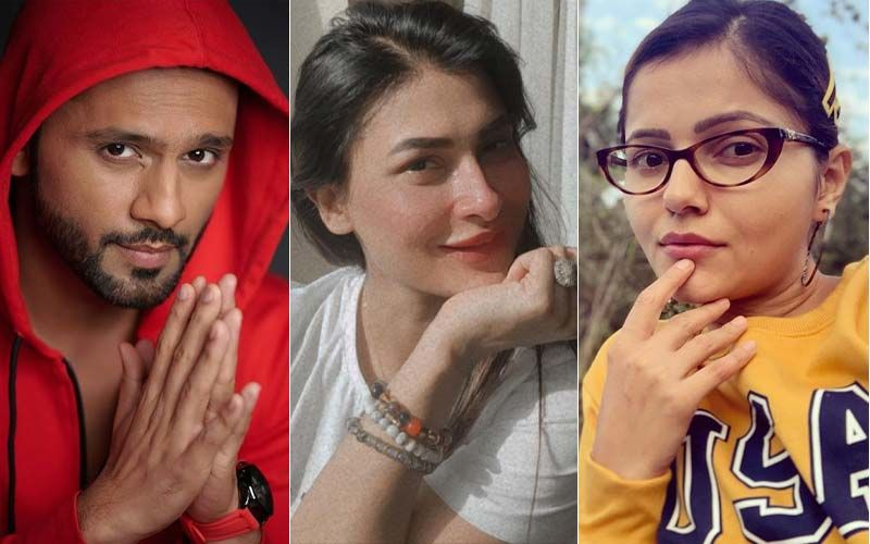 Bigg Boss 14: Rahul Vaidya Angers Pavitra Punia Questioning Her Feelings For Abhinav Shukla; Punia Says 'Need No Character Certificate', Rubina Dilaik Hugs Her