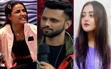 Bigg Boss 14: Jasmin Bhasin Throws Water On Rahul Vaidya During A Heated Argument; Singer Jokes She Copied Rashami Desai's 'Chai Antic' From BB13