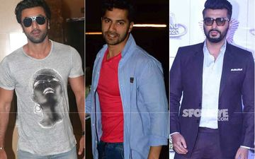 SPOTTED: Ranbir Kapoor, Varan Dhawan, Natasha Dalal And Others Party With Arjun Kapoor At His Home