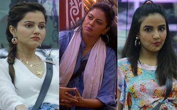 Bigg Boss 14 Day 48 SPOILER ALERT: Rubina Dilaik Accuses Kavita Kaushik Of Behaving Like A Dictator; Former Gets Into War Of Words With Jasmin Bhasin