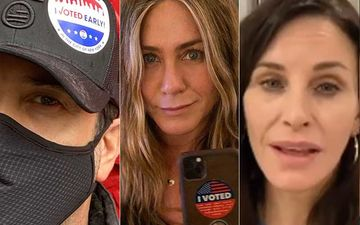 FRIENDS Star David Schwimmer Follows The Footsteps Of Jennifer Aniston And Courteney Cox; Votes For Joe Biden In US Presidential Elections 2020