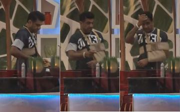 Bigg Boss 14: Eijaz Khan Gets Injured, Picture With Broken Hand Leaked