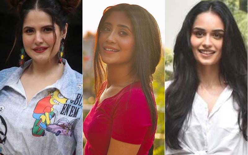 Fabulously HOT Or NOT: Zareen Khan, Shivangi Joshi, And Rashami Desai Are All About Bling; Manushi Chhillar And Nikki Tamboli Flaunt Their Toned Sexy Backs