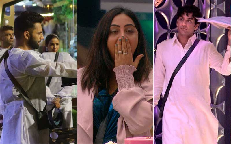 Bigg Boss 14 Day 66 SPOILER ALERT: Rahul Vaidya Nominates Abhinav Shukla-Rubina Dilaik With A Gun; Arshi Khan Shocked On Vikas Gupta's Entry