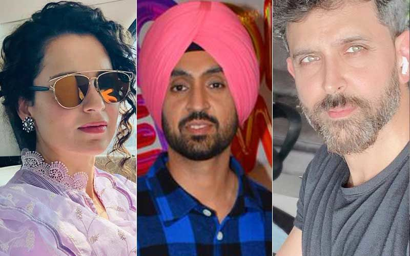 After Kangana Ranaut And Diljit Dosanjh's Mega Spat On Twitter, Netizens Trend #HrithikRoshan And Say 'Nation Owes An Apology To Him'