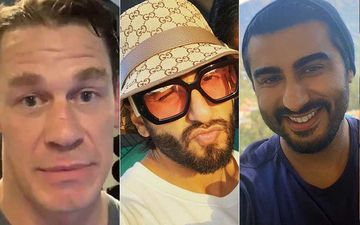 Fast And Furious 9 Actor John Cena Shares A Pic Of Ranveer Singh; Latter Says 'Kuch Bhi', Bestie Arjun Kapoor Comments