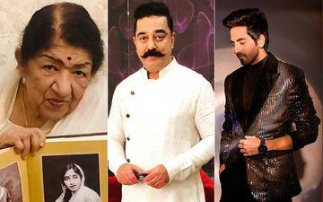 Ambedkar Jayanti: Lata Mangeshkar, Kamal Haasan, Ayushmann Khurrana Pay Tribute To Dr Babasaheb Ambedkar On 129th Birth Anniversary