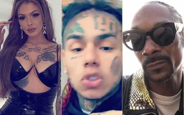 Celina Powell Leaks Tekashi 6ix9ine And Snoop Dogg Sex Tapes; Charges Money For People To Watch- Reports