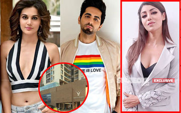 Taapsee Pannu, Ayushmann Khurrana's Building NOT SEALED, Resident Debina Bonnerjee Clears The Air- EXCLUSIVE