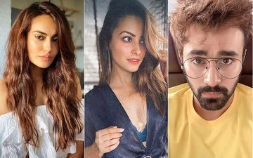Actress Surbhi Jyoti Gives FRIENDS Anita Hassandani And Pearl V Puri A Classy Makeover And Must Say They Look Just Fine; Pic INSIDE