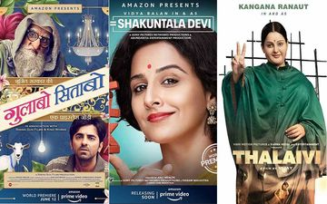 Gulabo Sitabo, Shakuntala Devi, Thalaivi And Other Bollywood Films That Will Release On OTT Platforms Soon