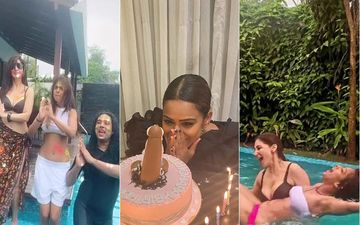 After Nia Sharma's X Rated Birthday Cake Pic Goes Viral, Her Pool Party Will Definitely Raise The Hotness Level- INSIDE VIDEOS