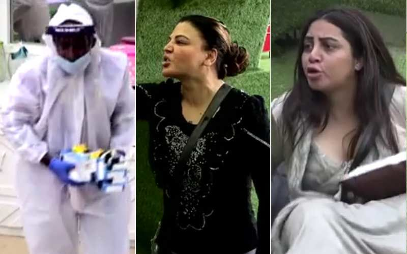 Bigg Boss 14 Promo: Bigg Boss Takes Away All The Ration From The House; Rakhi Sawant Says 'Tumhari Vaat Lag Jayegi', Housemates In Shock