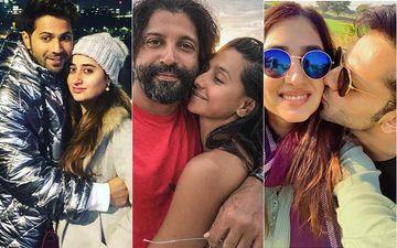 Valentine's Day 2021: Varun Dhawan Drops UNSEEN Pic With Natasha Dalal, Shibani Dandekar Wishes Farhan Akhtar; Disha Parmar Shares A 'Cute Mushy' Snap With Rahul Vaidya