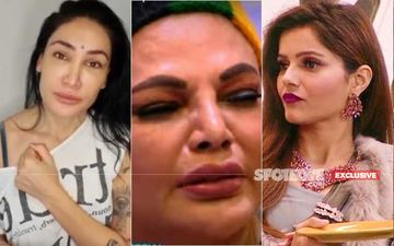 Bigg Boss 14: Sofia Hayat Cries And extends Support To Rakhi Sawant; Reacts To Rubina Dilaik Throwing Water, Accuses Couple Of Using Rakhi For A Game-EXCLUSIVE