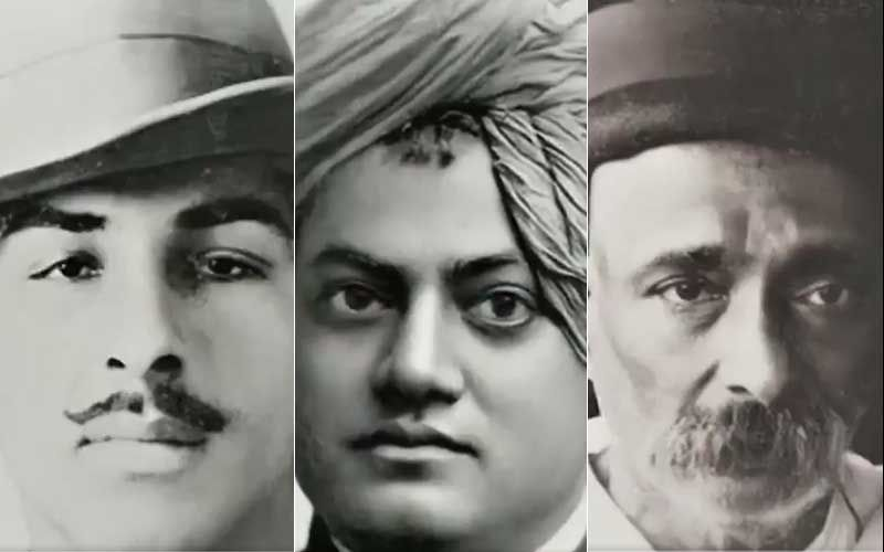Bhagat Singh, Swami Vivekananda, Lokmanya Tilak And Others Brought Back To Life With Artificial Intelligence; Netizens In Awe As Surreal Animated Pics Go Viral