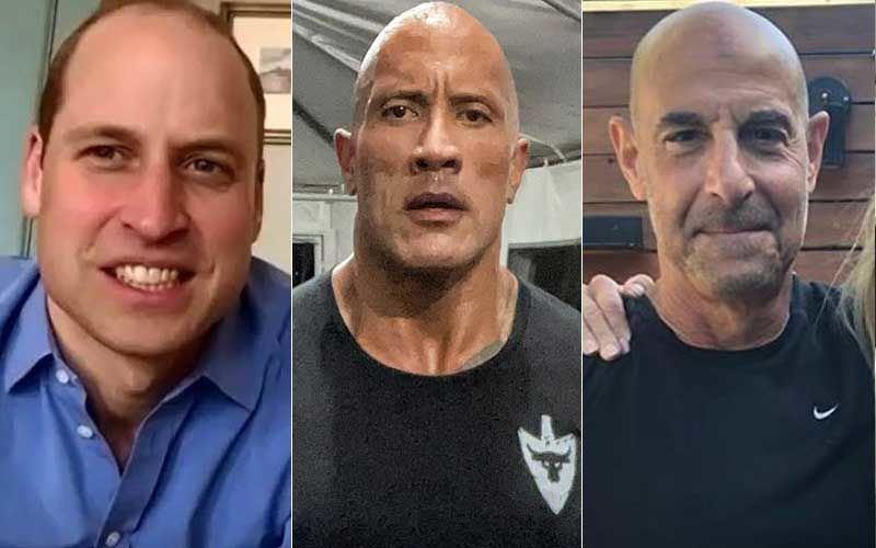 Prince William Crowned The World's Sexiest 'Bald' Man; Dwyane Johnson Demands Recount, Stanley Tucci Reacts