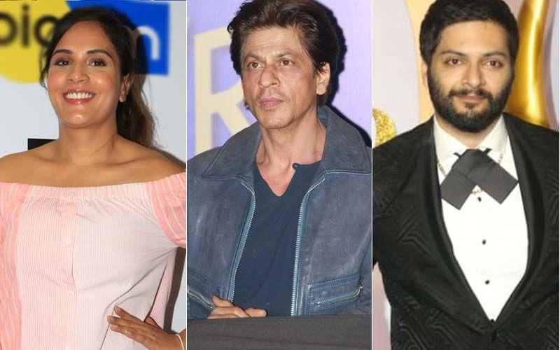Richa Chadha Expresses 'Lurve' For Shah Rukh Khan; Ali Fazal Responds Saying 'Zara Ghar Aayiye'