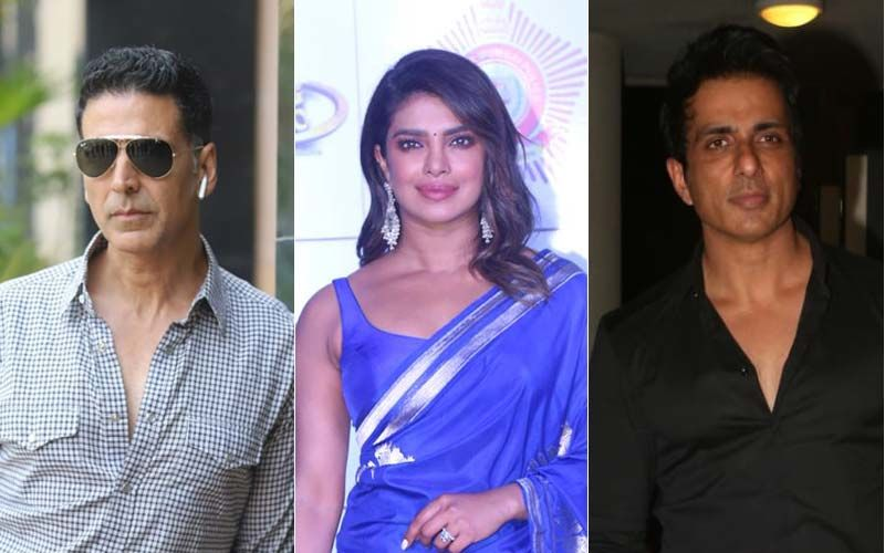 Akshay Kumar, Priyanka Chopra Jonas, Sonu Sood And Others; Here's How Bollywood Celebs Are Contributing To India's Fight Against COVID-19
