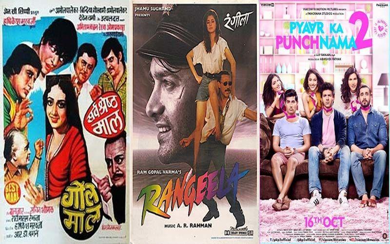 Hrishikesh Mukherjee Directed Gol Maal, 1995 Film Rangeela And Pyaar Ka Punchnama 2; 3 Feelgood Films To Watch During Lockdown - PART 1