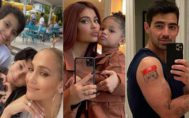 Jennifer Lopez Celebrates Mother's Day With Her Mom And Kids While Kylie Jenner Shares Pics With Stormi Webster; Joe Jonas And Others Drop Sweet Wishes