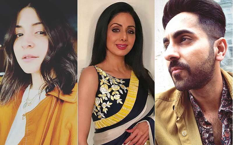 Sridevi's Birth Anniversary: Anushka Sharma, Ayushmann Khurrana And Others Remember The Icon