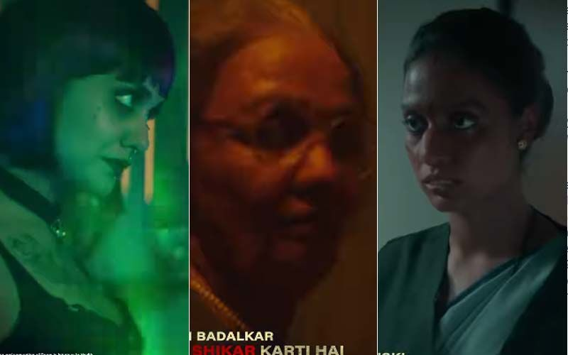 Divya Agarwal Leaves Everyone Stunned With Her Lesbian, Old Man, And Other Looks In ALTBalaji's Upcoming Action-Drama Cartel