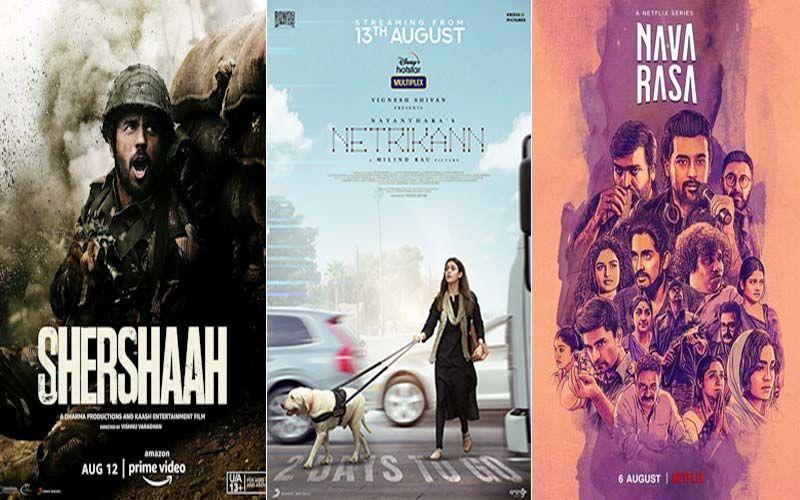 Ex-Stream Benefits: Shershaah, Netrikann, Navarasa And More- Revaluating The Hits & Misses Of August On OTT