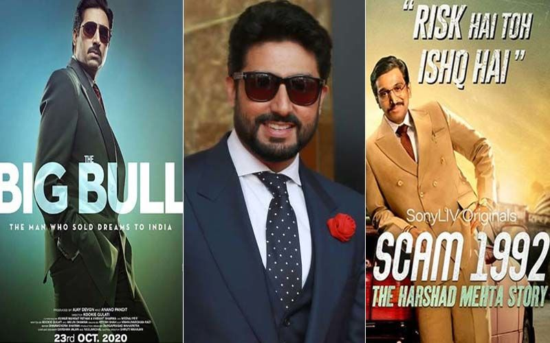 Abhishek Bachchan On The Big Bull: 'Not Competing With Pratik Gandhi & Scam'