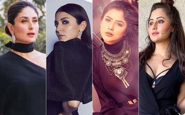Anushka Sharma, Shehnaaz Gill, Kareena Kapoor Khan OR Rashami Desai: Who Wore Black Like A Sassy Queen?