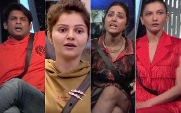 Bigg Boss 14: Senior Sidharth Shukla Calls Rubina Dilaik 'Selectively Dumb'; Gauahar Khan And Hina Khan Term Shukla 'Useless' - Bitterness Mounts